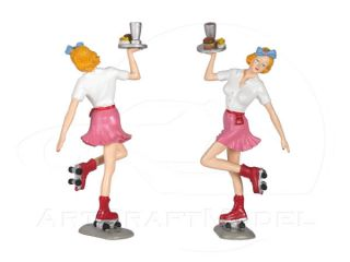 BETTY 124 in Weiß/Pink/White Motorhead Figur Figurine