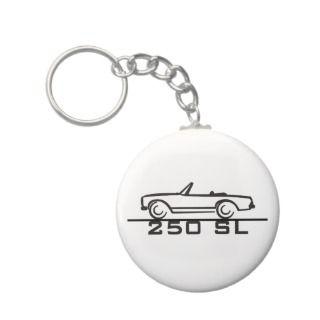 Mercedes 250 SL Type 113 Keychain