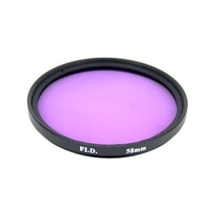 58mm Filter Kit UV CPL FLD For Nikon Lens Camera with Carry Bag
