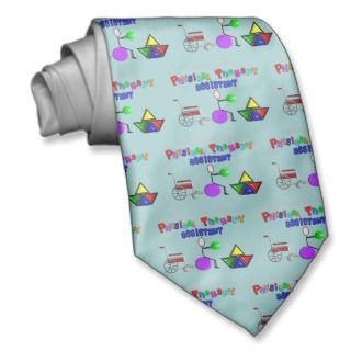 Physical Therapy Assistant Gifts Unique Graphics Neck Wear