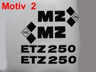 MZ ETZ 250 Logo Aufkleber Emblem ets DDR ES TS