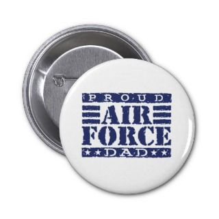 Proud Air force Dad Pins
