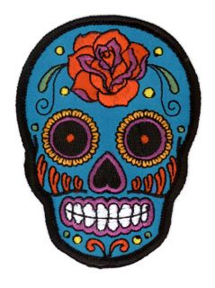 Sunny Buick Tattoo Sugar Skull Day Of The Dead Patch