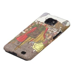 Vintage Pied Piper of Hamelin Fairy Tale by Hauman Galaxy SII Case