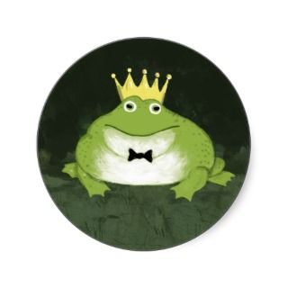 Fairy Tale Wedding Frog Prince Save the Date Postcards