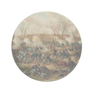 American Civil War Battle of Fort Donelson 1862 Drink Coasters