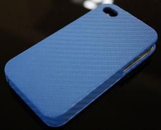 iPhone 4S Handy Leder Tasche Etui Hülle Cover Carbon Leather Flip