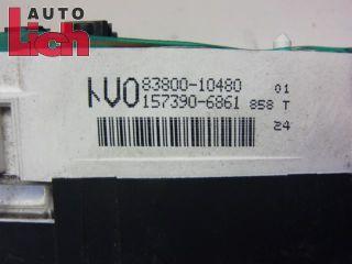 Toyota Starlet P9 Kombiinstrument Tacho Instrumente 83800 10480