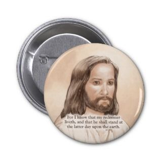 Sepia Jesus Art Bible Quote   Job 19:25 Pins