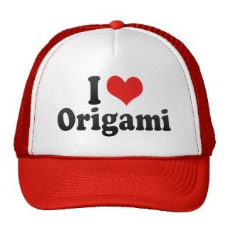 Love Origami Hats