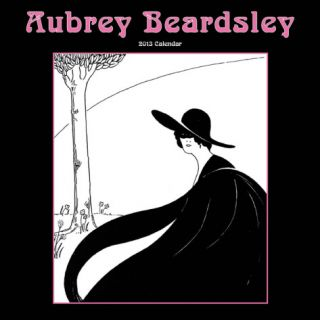 Aubrey Beardsley   2013 Wall Calendar Calendars