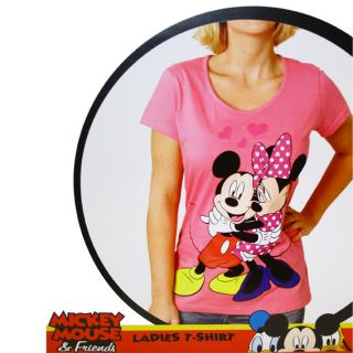 Damen T Shirt   Minnie Mouse Mickey Mouse Micky Maus Disney Mädchen T