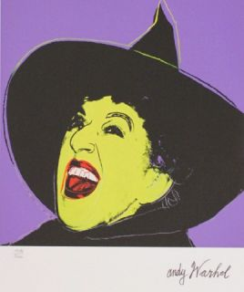 Andy Warhol Witch   Hexe, limitiert