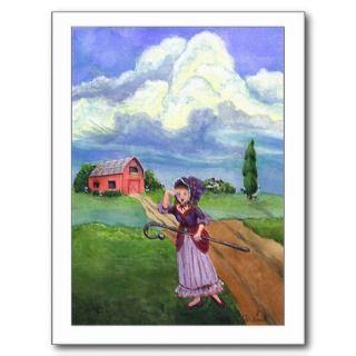 Little Bo Peep Postcard