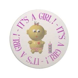 Its a girl drink coasters