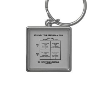 Unleash Your Statistical Self Hypothesis Testing Key Chains