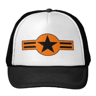 Roundel USA Air Force Military Plane Aircraft Hat