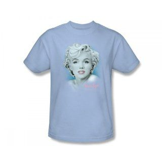 Marilyn Monroe     Anspruchsvolle Erotik T Shirt in Hellblau