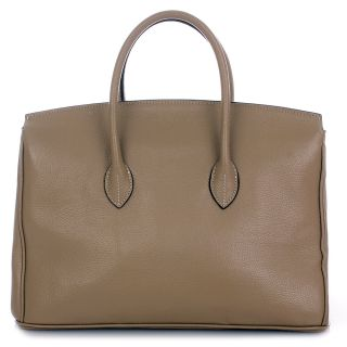 ROUVEN Taupe & Gold GRACE 40 Bag Handtasche UVP*699€