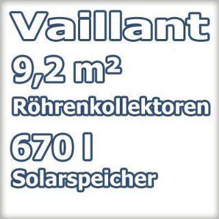 Vaillant Vakuum Röhrenkollektor Solar Paket 9.413 4x VTK 1140/2