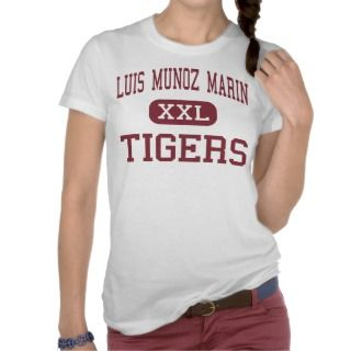 Luis Munoz Marin   Tigers   Middle   Newark Shirt