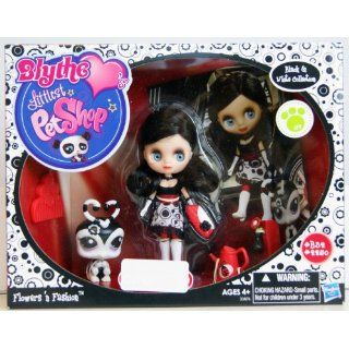 LITTLEST PET SHOP Black & White Collection   Flowers n Fashion