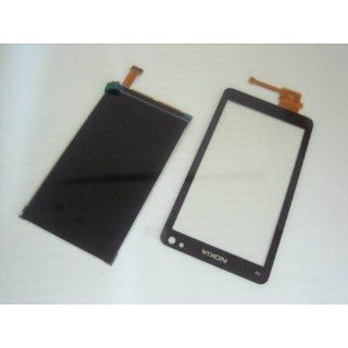 Nokia N8 N 8 ~ LCD Display + Touch Screen Digitizer Front Glass