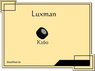 Luxman K 260 K260 Andruckrolle pinch roller Kassettendeck Cassette