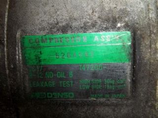Chrysler Voyager Klimakompressor Klima Kompressor Denso Dodge Plymouth
