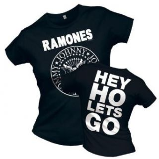 Universal Music Shirts Ramones   Hey Ho Lets Go 0914316 Damen Shirts