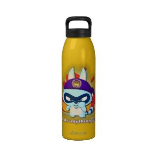Cute Raccoon Funny Cartoon Character Kawaii Bottle Drinking Bottles