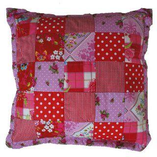 PIP Kissen Patch Pink Red 50x50 cm Küche & Haushalt