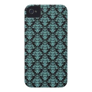 Damask vintage small wallpaper pattern iPhone 4S iPhone 4 Covers