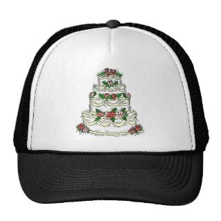 Traditional Wedding Cake Hats