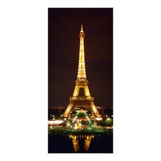 Eiffel Tower at Night   Color Rack Card