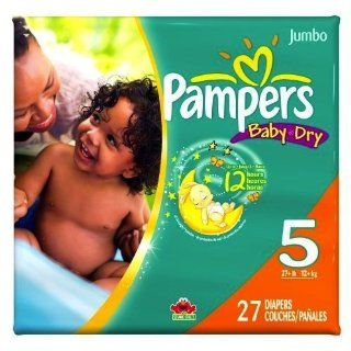 Pampers Baby Dry Diapers Jumbo Pack Size 5 (Einwegwindeln):