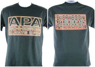 APA Bar and Brothel Ron Simmons JBL T shirt Black New