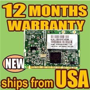 Mini Pci Wireless wifi card Hp Laptop Computer WPA2 WPA