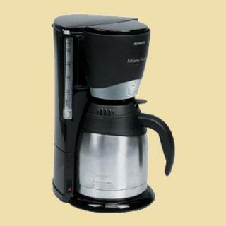 Rowenta Thermo Kaffeemaschine CT 273 MILANO   schwarz/Edelstahl matt