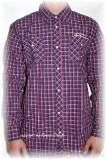 Scotch & Soda Langarm Hemd Shirt karo rot blau Gr. s m l xl xxl neu