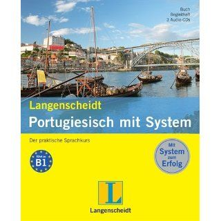 Langenscheidt Portugiesisch mit System   Set mit Buch, Begleitheft, 3