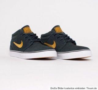 Nike SB Stefan Janoski Mid Schuhe Shoes seewead Gr.13,0 US/ 47,0 EUR