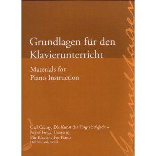 Grundlagen für den Klavierunterricht / Materials for Piano
