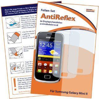 mumbi Displayschutzfolie Samsung Galaxy mini 2 S6500 Schutzfolie