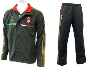 Adidas Herren Suit Präsentationsanzug AC Milan C1, Grün