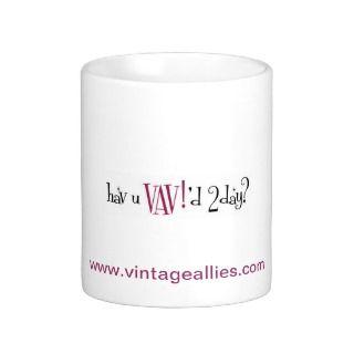 Vintage Allies Variety Broadcasting VAV! Mugs