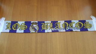 Schal Ultras Real Madrid Los Blancos Sciarpa Bufanda Echarpe