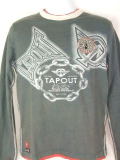 TAPOUT Vintage Motivate the World Long Sleeve T shirt
