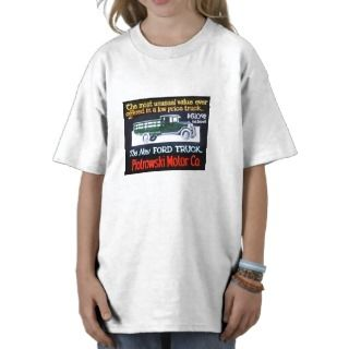 The New Ford Truck Magic Lantern Slide T shirt