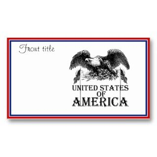 Flag Business Cards, 1,500+ American Flag Business Card Templates